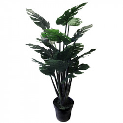 Monstera plante i potte, 120cm, Kunstig plante
