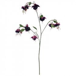 Fuchsia, lilla, 94cm kunstig blomst