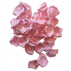 Rosenblade, Lyserød, 60stk. pose, kunstig blomst