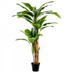 Bananträd i kruka 180 cm, konstgjord växt