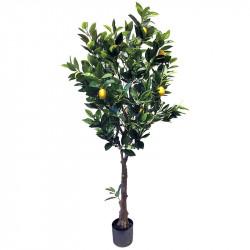 Citronträd i kruka, 150 cm, konstgjord växt
