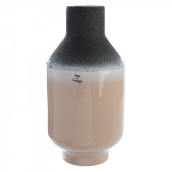 Vase med reaktive glasur H25cm