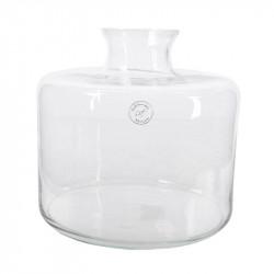 Rund vase med smal åbning, 24cm