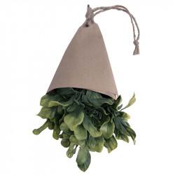 Kryddört, Basilika 32 cm i pappersomslag, konstgjord växt