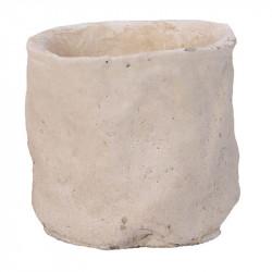 Cementkruka, H 9 cm