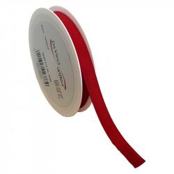 15 mm Satinband med kantsöm, Röd