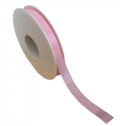 15 mm Satinband med kantsöm, Rosa