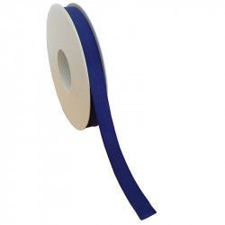 15 mm Satinband med kantsöm, Mörkblå