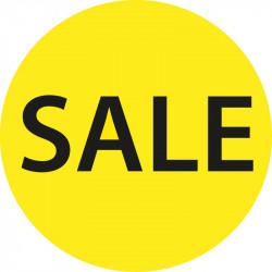 "Cirkel plakat ""Sale"""
