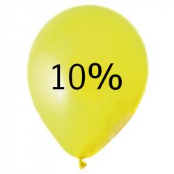 Ballong med 10%