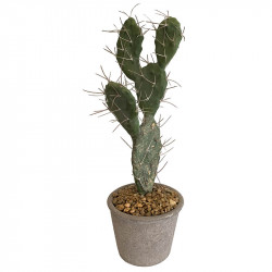 Sabrakaktus, H: 42 cm, konstgjord växt