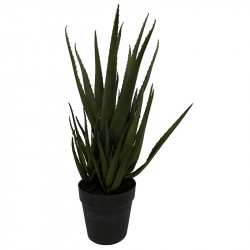 Agave-växt i kruka, 54cm, konstgjord växt