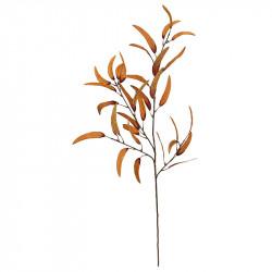 Eukalyptus gren, Orange, H: 105cm, kunstig gren