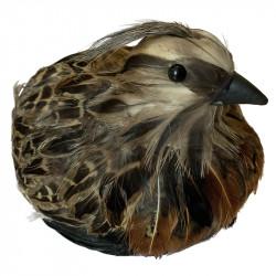 Fugl, hun fasan, 15cm, kunstig dyr