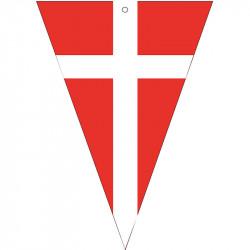 Vimpelskylt med dansk flagga