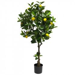 Citronträd i kruka, 120 cm, konstgjord växt