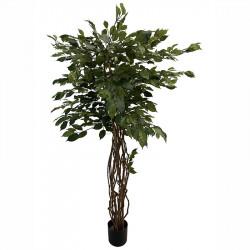 Benjaminfikus i kruka, 170 cm, konstgjord växt