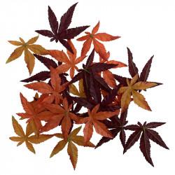 Lönnlöv / höstlöv 24 st/påse, konstgjorda löv