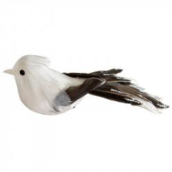 Fågel med klämma, ca 20 cm, konstgjorda djur