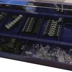 Prissystem, Compact Midi, svart med vita siffror