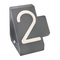 """Prisindex, Compact Midi """"2"""", Grå"""