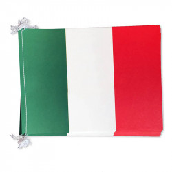 Flaggirlang, Italien