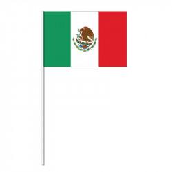 Flag på plastpind, Mexico