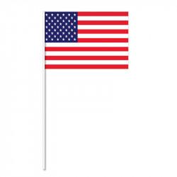 Flagga på plastpinne, USA