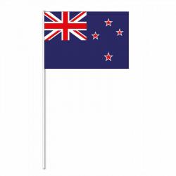 Flagga på plastpinne, Nya Zeeland