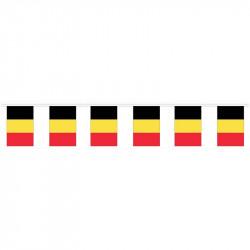 Flaggirlang, Belgien