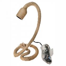 Bordslampa med rep