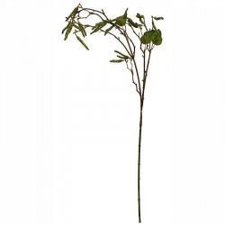 Björkgren med groda, 70cm, konstgjord växt