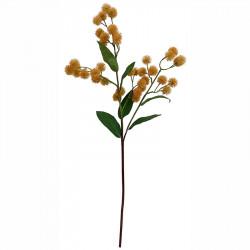 Tistel på stjälk, 79cm, konstgjord blomma