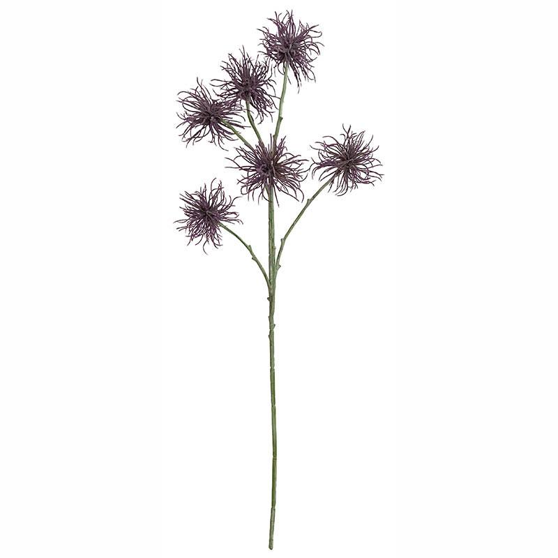 Krysantemum blomsterskälk, 6 blommor, konstgjord blomma