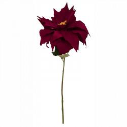 Julestjerne, rød, 50cm, kunstig blomst