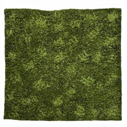 Mossplatta, bergklomossa, 100x100cm, konstgjord planta