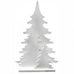 Julgran 3D-effekt, LED-ljus, utomhus, 69cm