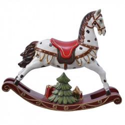 Gunghäst till dekoration, hårdplast, H21,5cm