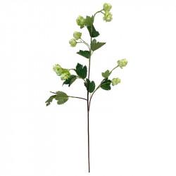 Ginkgo gren, grön, 76cm, konstgjord gren