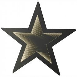 Stjärna m LED infinity ljus, D: 67cm