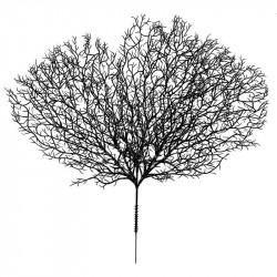 Svart korall, 32 cm, konstgjord växt