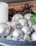 Julekugler | Store & små ⇒ Kæmpe udvalg i billige julekugler!