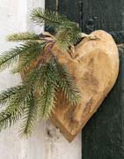 Hjerter | Smukke julehjerter til hjemmet