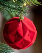 Julekugler med former og mønster