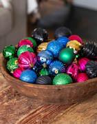 Blandede julekugler i sampak