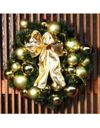 Dekorationer med julekugler