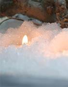 Kunstig sne og snetæpper