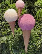 Kunstige slik & kager i plastik til dekoration ⇒ Køb online her!